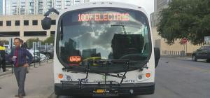 CBS Austin electric bus