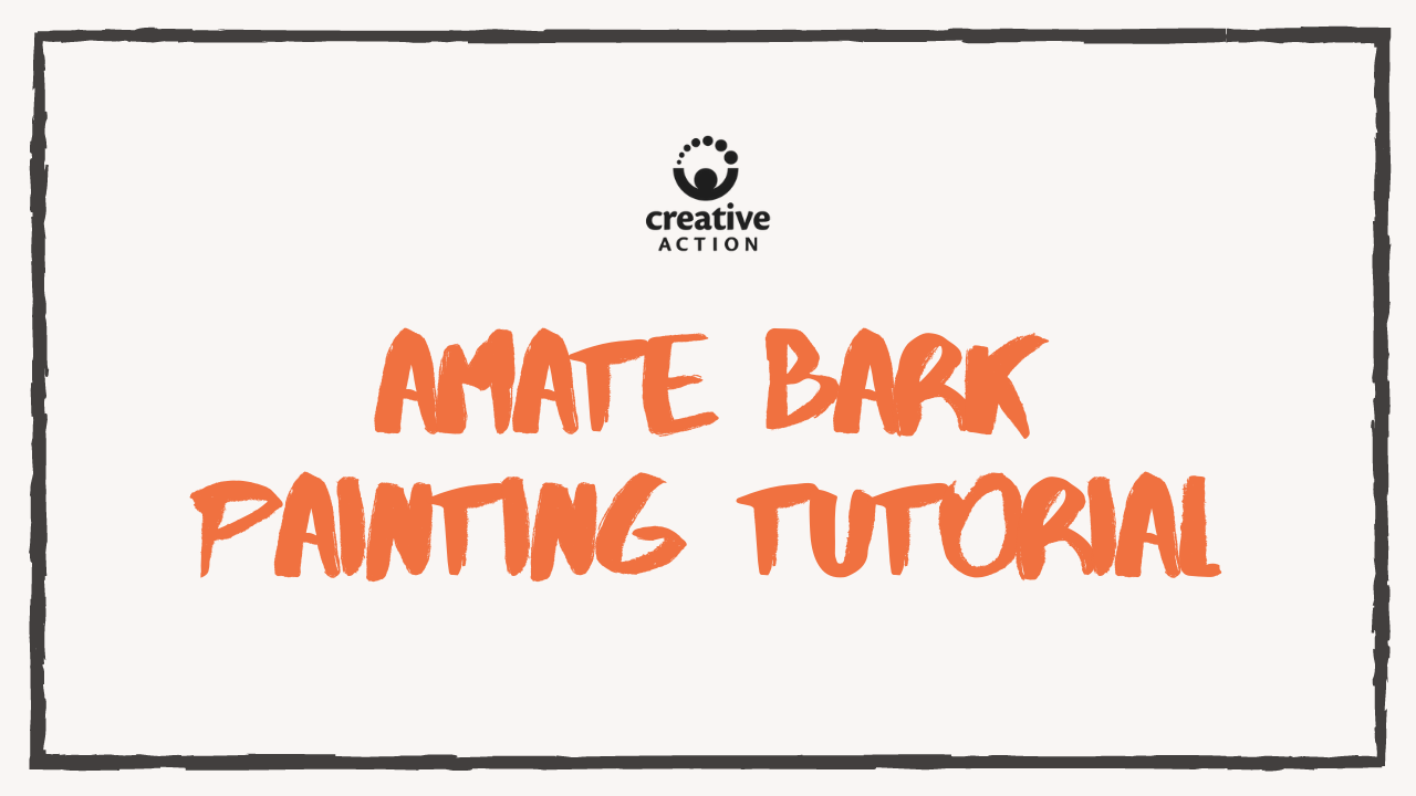 Amate Bark Painting Tutorial