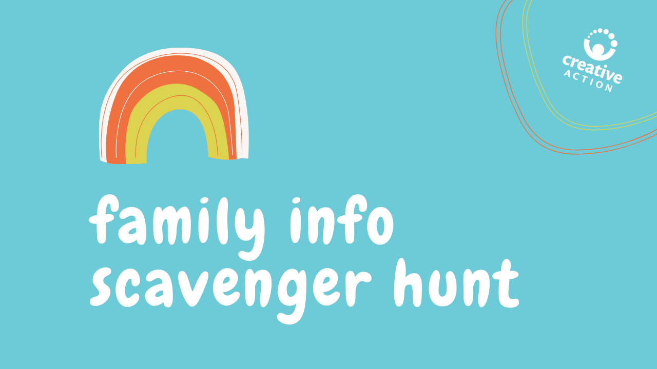 Family Info Scavenger Hunt