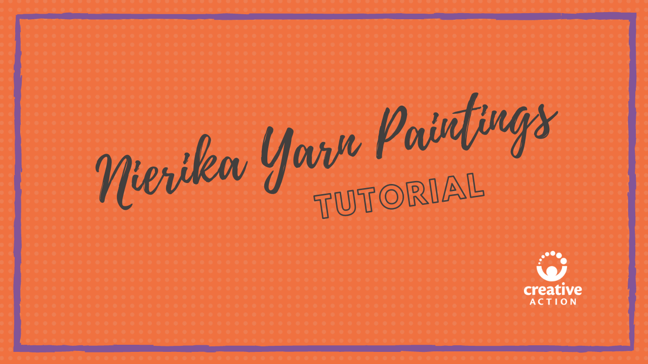 Nerika Yarn Painting Tutorial